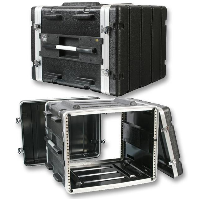 19 inch Rack ABS Flight Case - 8U