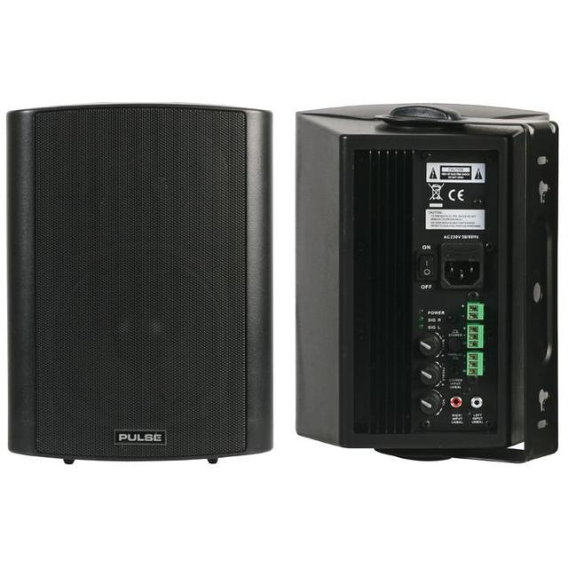 Active Speakers, 40W RMS Black