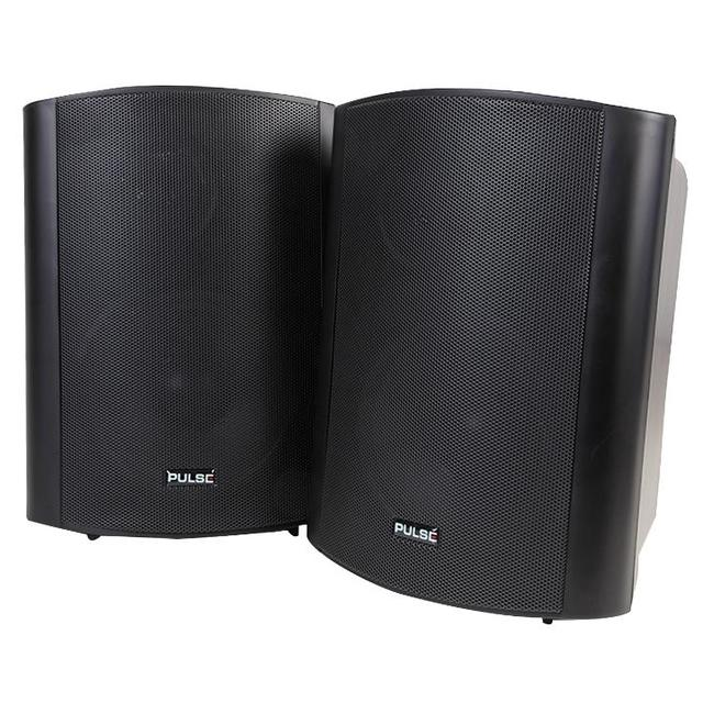 6 inch 2 Way 50W Active Speakers, Black 1 Pair
