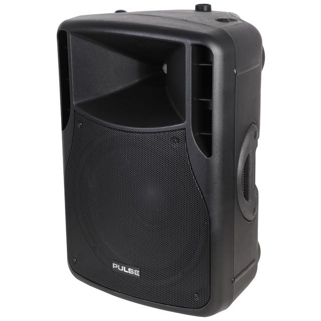 200W RMS 15 inch Active ABS Speaker Cabinet, Black