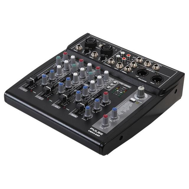 4 Channel Mixer with USB/SD Audio Player