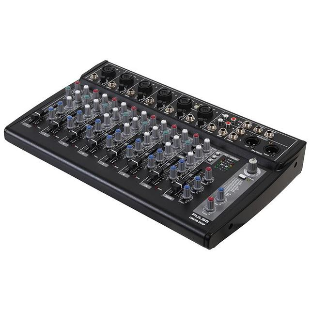 8 Channel Mixer with USB/SD Audio Player