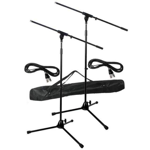 Microphone Stand Kit with Leads
