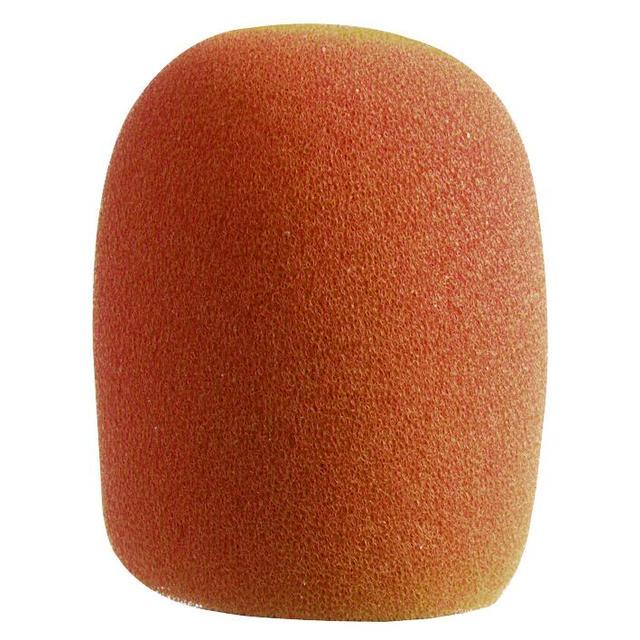 Microphone Windshield, Orange