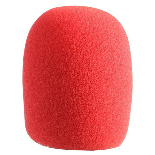 Microphone Windshield, Red