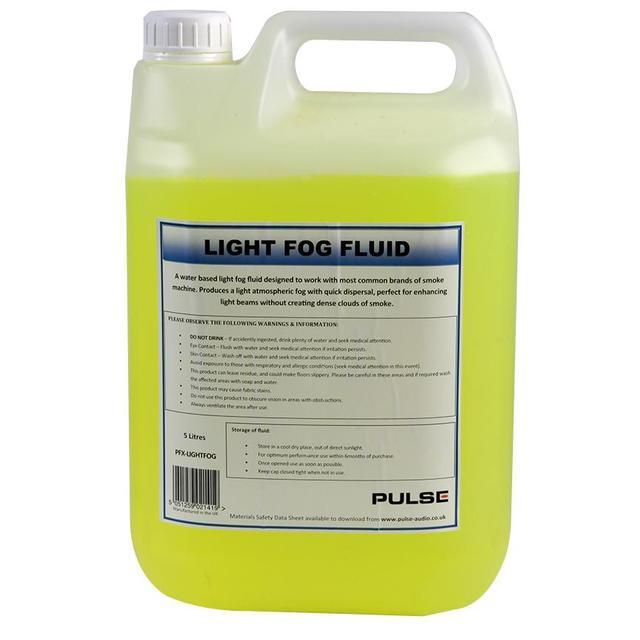 Light Fog Fluid, 5 Litre