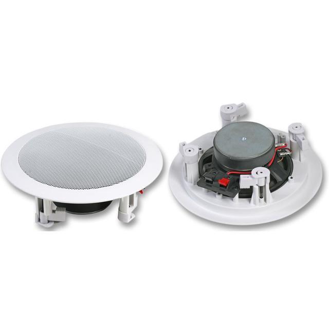 51/4 inch 20W Ceiling Speaker, 8 Ohm White