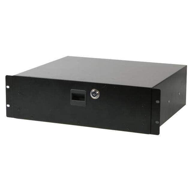 19 inch Rack Locking Drawer - 3U