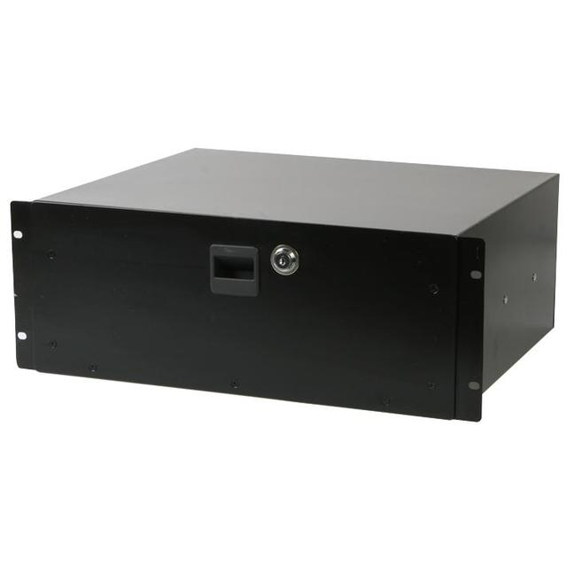 19 inch Rack Locking Drawer - 4U