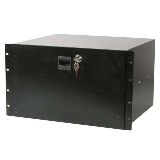 19 inch Rack Locking Drawer - 6U