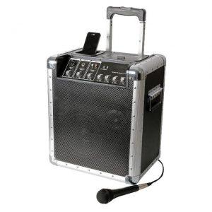 Portable PA System with iPod Dock