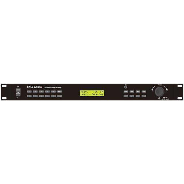 DAB/FM Radio Tuner - 1U 19 inch Rack Mount
