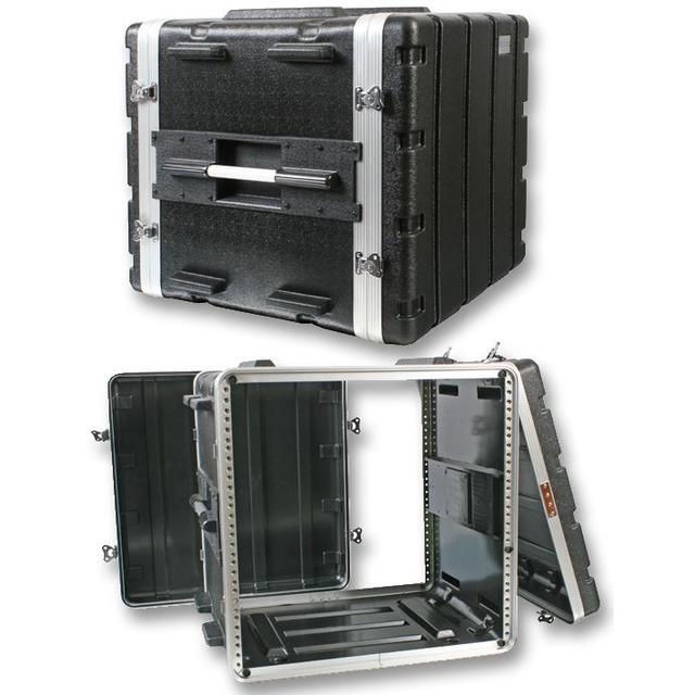 19 inch Rack ABS Flight Case - 10U
