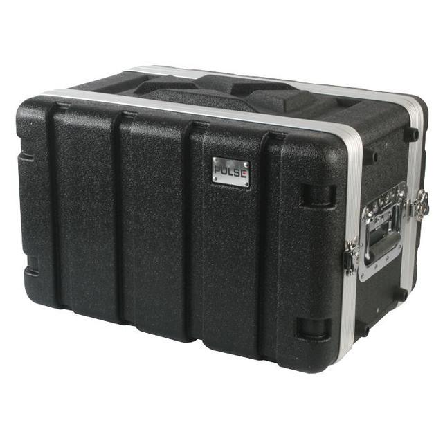 19 inch Rack ABS Flight Case - 6U Short
