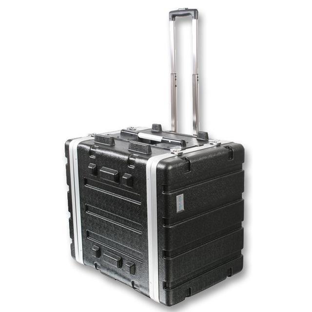 19 inch Rack ABS Trolley Flight Case - 7U