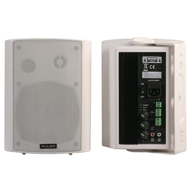 Active Speakers, 40W RMS White