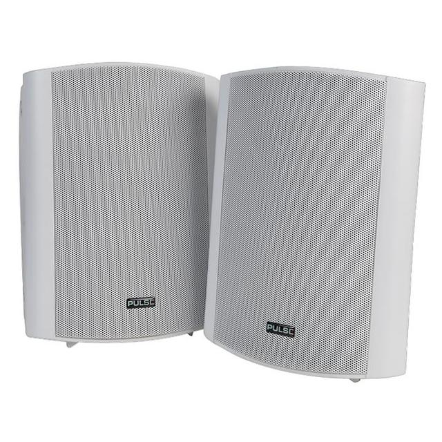 6 inch 2 Way 50W Active Speakers, White 1 Pair