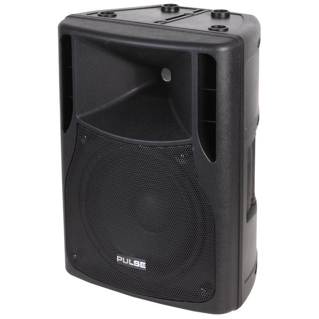 120W RMS 10 inch Active ABS Speaker Cabinet, Black