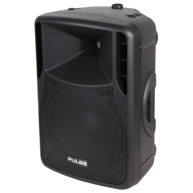 180W RMS 12 inch Active ABS Speaker Cabinet, Black