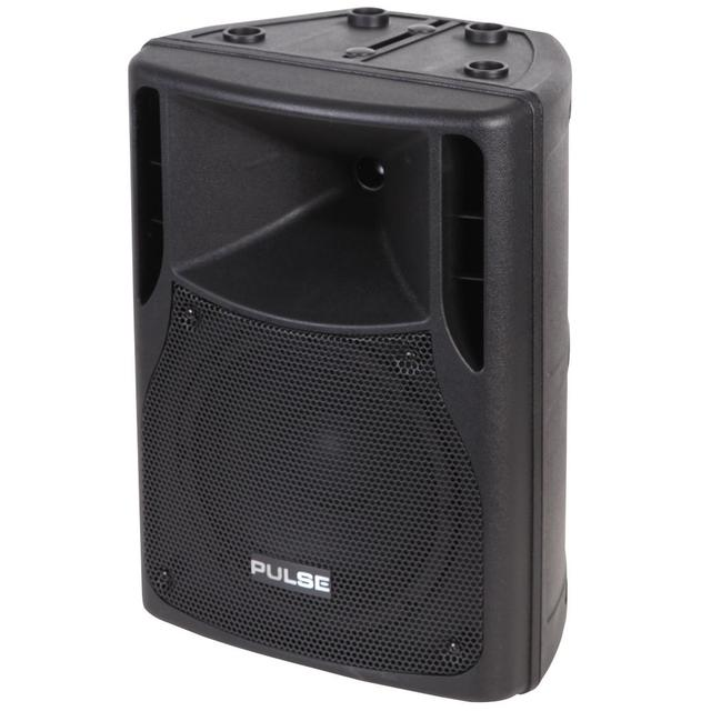100W RMS 8 inch Active ABS Speaker Cabinet, Black