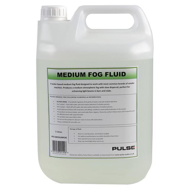 Medium Fog Fluid, 5 Litre