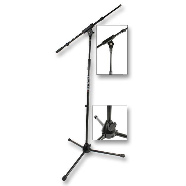 Microphone Stand with Adjustable Boom