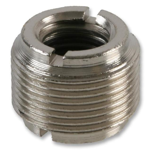3/8 inch F to 5/8 inch M Microphone Thread Adaptor - Double Ended