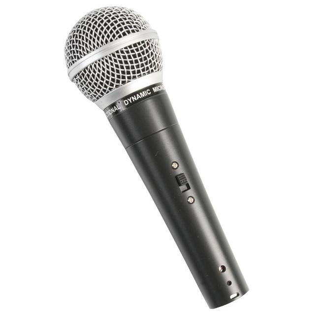 Hypercardioid Dynamic Vocal Microphone