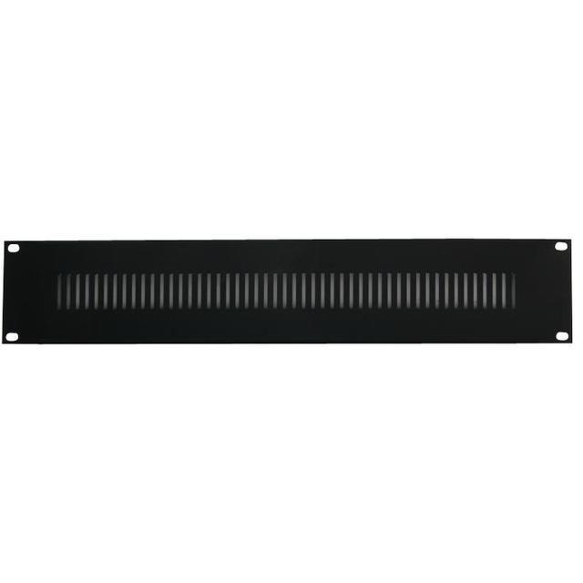 19 inch Rack Vent Panel - 2U