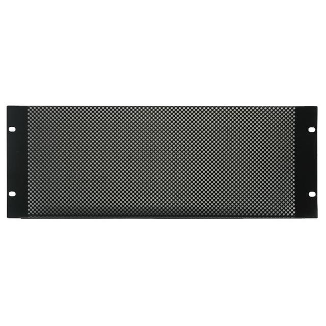 19 inch Rack Mesh Vented Panel - 4U