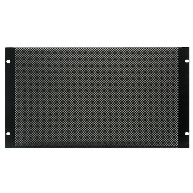 19 inch Rack Mesh Vented Panel - 6U