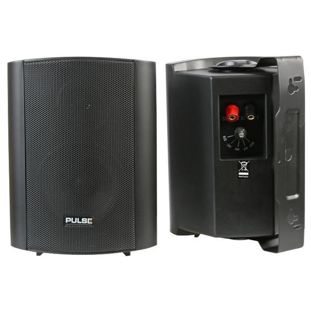 4 inch ABS Speakers, 100V/8 Ohm Black