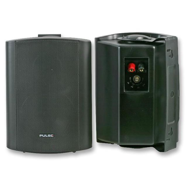 5 inch ABS Speakers, 100V/8 Ohm Black